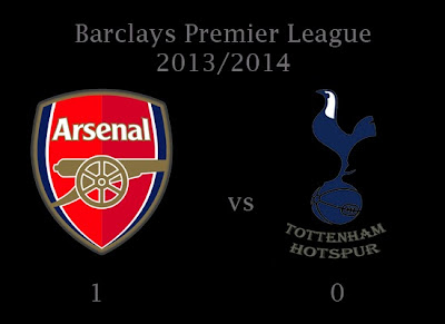Arsenal v Tottenham Hotspur Barclays Premier League 20132014
