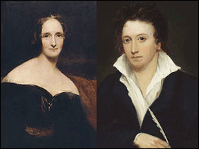 Mary and Percy Shelley