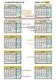 Calendario Escolar 2011/2012