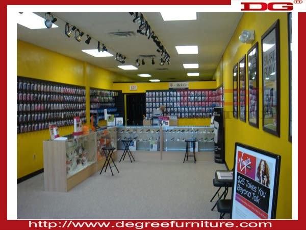Best furniture mobile shop design - Mobile shop interior design ideas ...