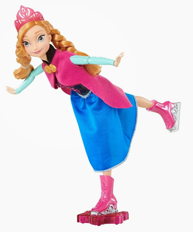 TOYS : JUGUETES - DISNEY Frozen  Anna Patinadora | Muñeca | Princesas Disney  Producto Oficial de la película | Mattel CBC62 | A partir de años