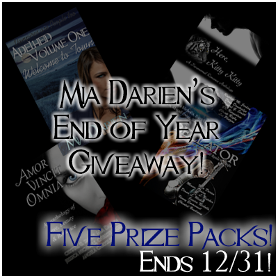 Mia Darien's End of Year Giveaway (US/INT)