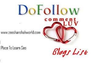 Commet Luv Blogs List 2013