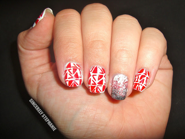 red-white-tribal-nail-art