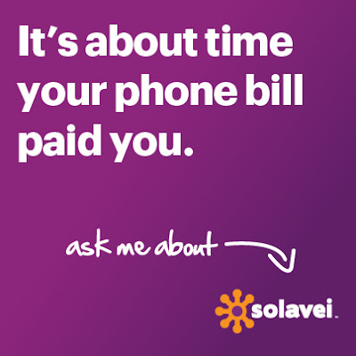 It's about time your phone bill paid you.
