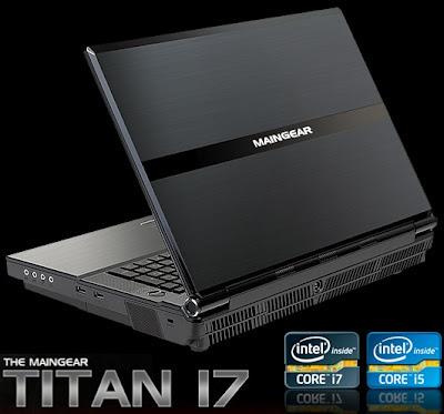 Maingear Titan 17 Notebook Setara Komputer Desktop