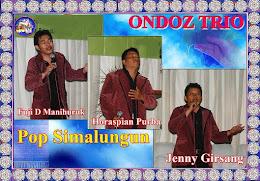 """ONDOZ TRIO"" ""Lang Boru Simalungun"" Cipt Fuji D Manihuruk"