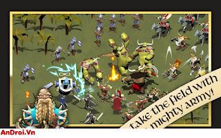 Game Android Chiến Thuật »Game Chiến Thuật Cực Hay - Kingdoms of Zenia: Dragon Wars