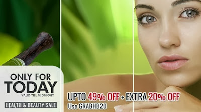 Flat 20% Extra Off on Skin Care | Hair Care | Fragrances | Men's Shaving Products | Health Care Products at HomeSHop18 (For Today Only)