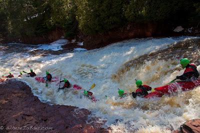 a fun sequence of Scott White on ski jump, split rock river minnesota, chris baer