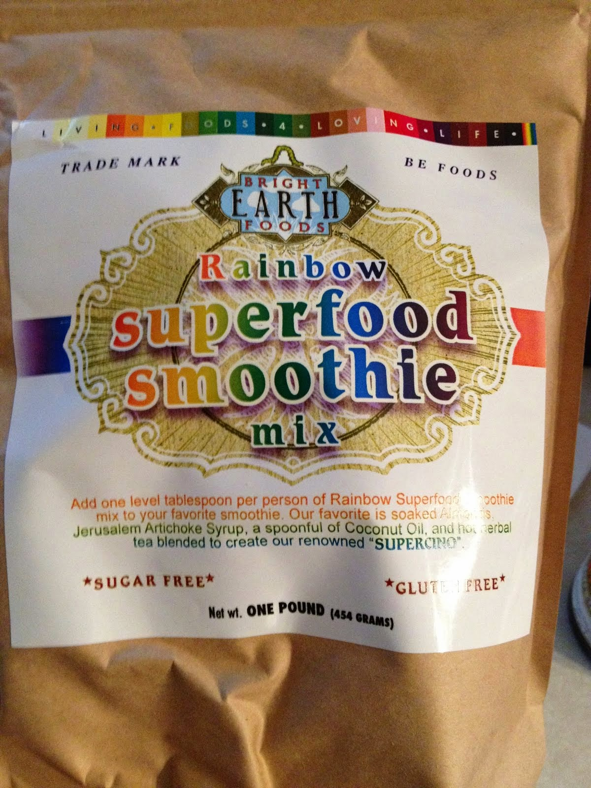 My Favorite Superfood: Bright Earth Superfood Smoothie Mix- Vegan