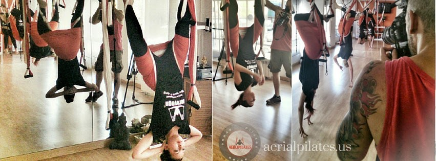 AERIAL TOGA & PILATES, TELEVISION INTERVIEW WITH RAFAEL MARTINEZ