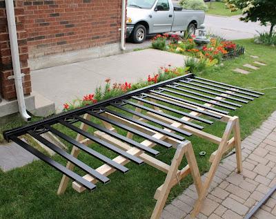 Railblazers porch railing