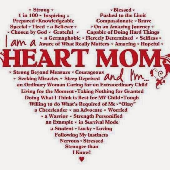 I am a Heart Mom