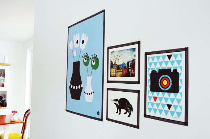 jolijou dekoidee bilderrahmen aus maskingtape. Black Bedroom Furniture Sets. Home Design Ideas