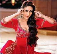 Bollywood, hot, kareena, cleavage, show