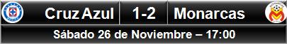 (2) Cruz Azul 1-2 Monarcas Morelia (7)