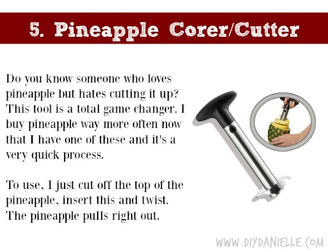 Holiday Gift Idea for Adults: Pineapple Cutter