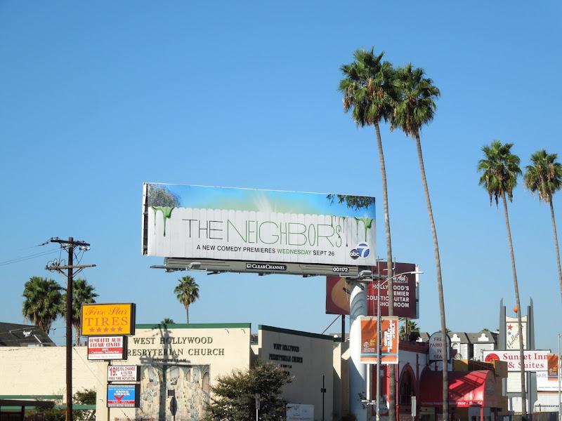 The Neighbors billboard