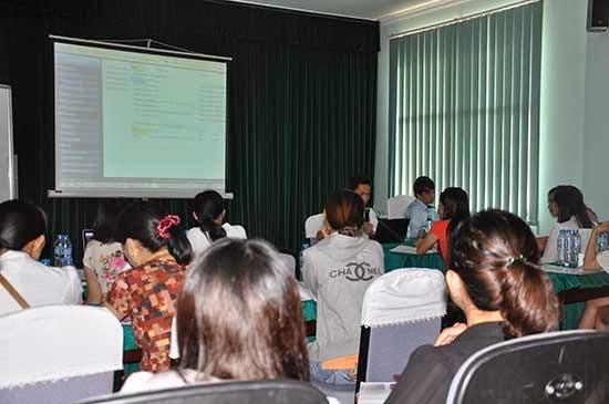 SCTV tập huấn phần mềm kế toán Bravo
