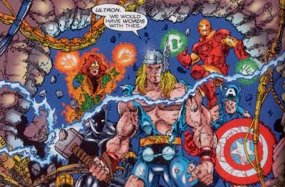 Vengadores Thor Capitan America