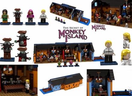 monkey island lego
