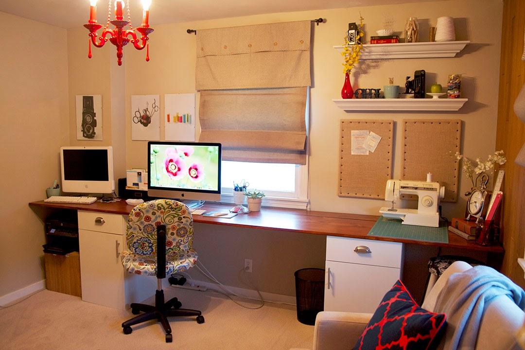 Diy Work Desk Desk In A Cabinet