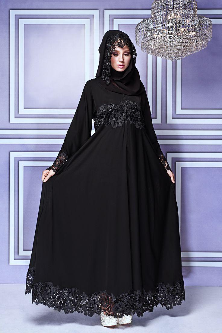 20 contoh baju gamis muslim brokat terbaru 2018 Baju gamis versi 2015