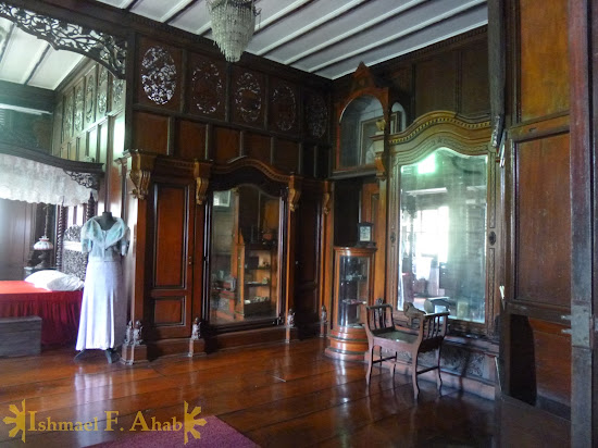 Bedroom of President Aguinaldo in Aguinaldo Shrine