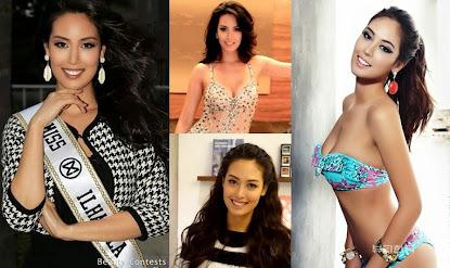 """""""Tenho dupla nacionalidade, mas meu coração é brasileiro"""", afirmou a Miss mundo Ilhabela 2015, Cath"""