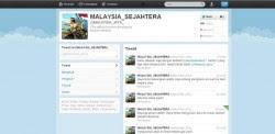 bintancenter.blogspot.com - Akun Twitter @MALAYSIA_JAYA_ Dihack Orang Indonesia?