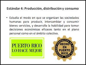 Estándar 4: PRODUCCIÓN, DISTRIBUCIÓN Y CONSUMO