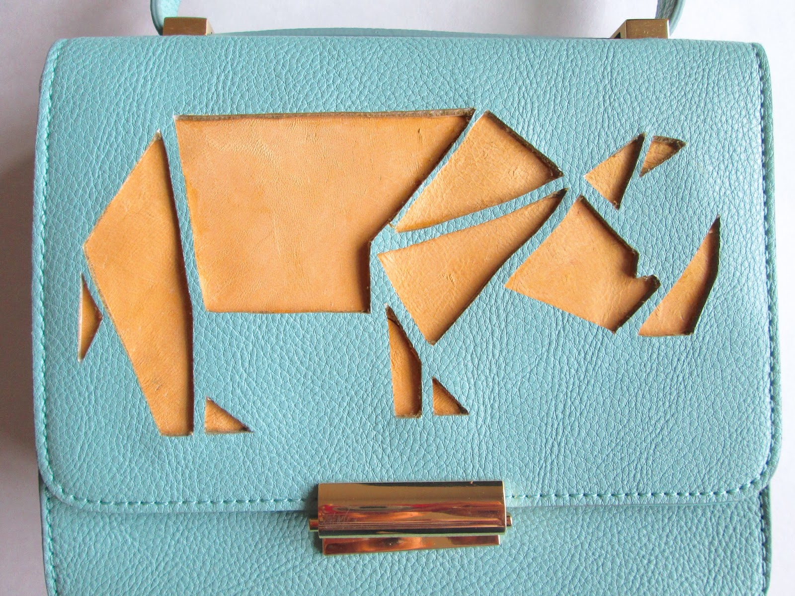 Anthropologie Rhino purse Knock-off