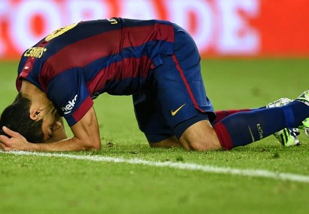 Barcelona Takluk Di Camp Nou