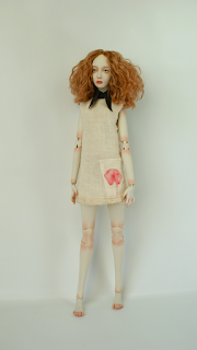 Miss Poppy Porcelain BJD Doll