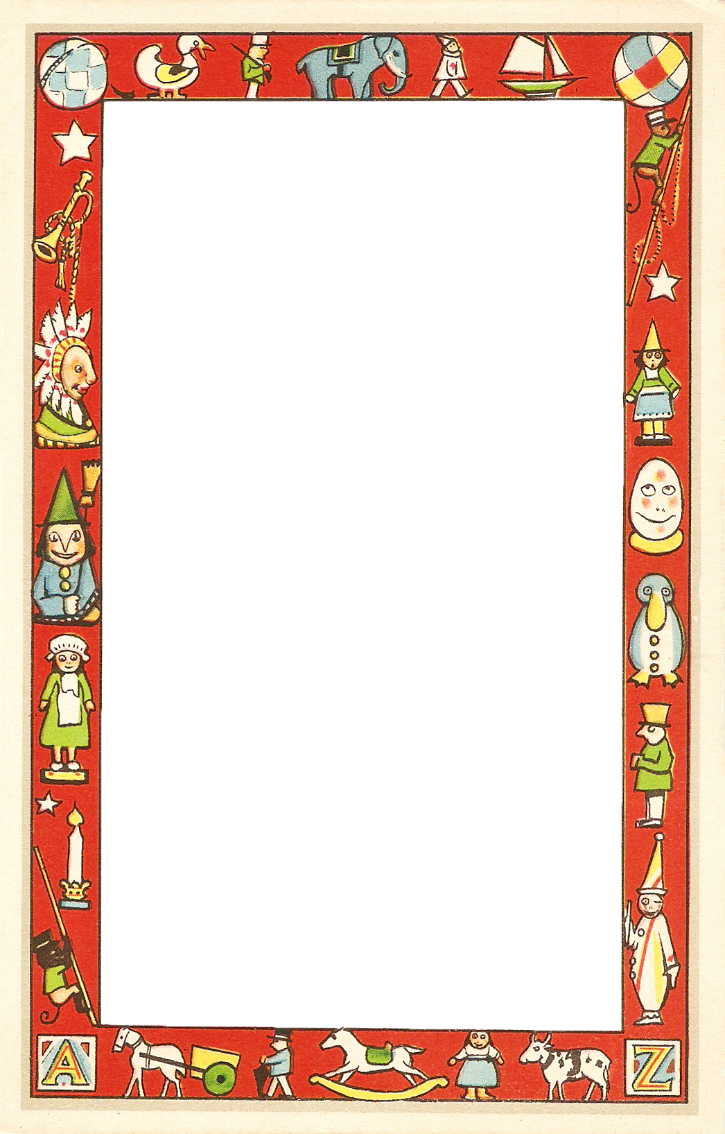 Christmas Toys Border : Catnipstudiocollage free christmas clip art vintage