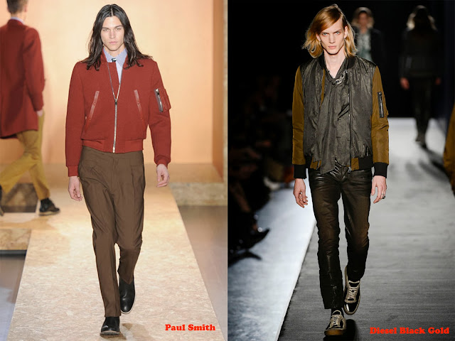 Tendencia otoño_invierno 2013-14 bomber: Paul Smith y Diesel Black Gold