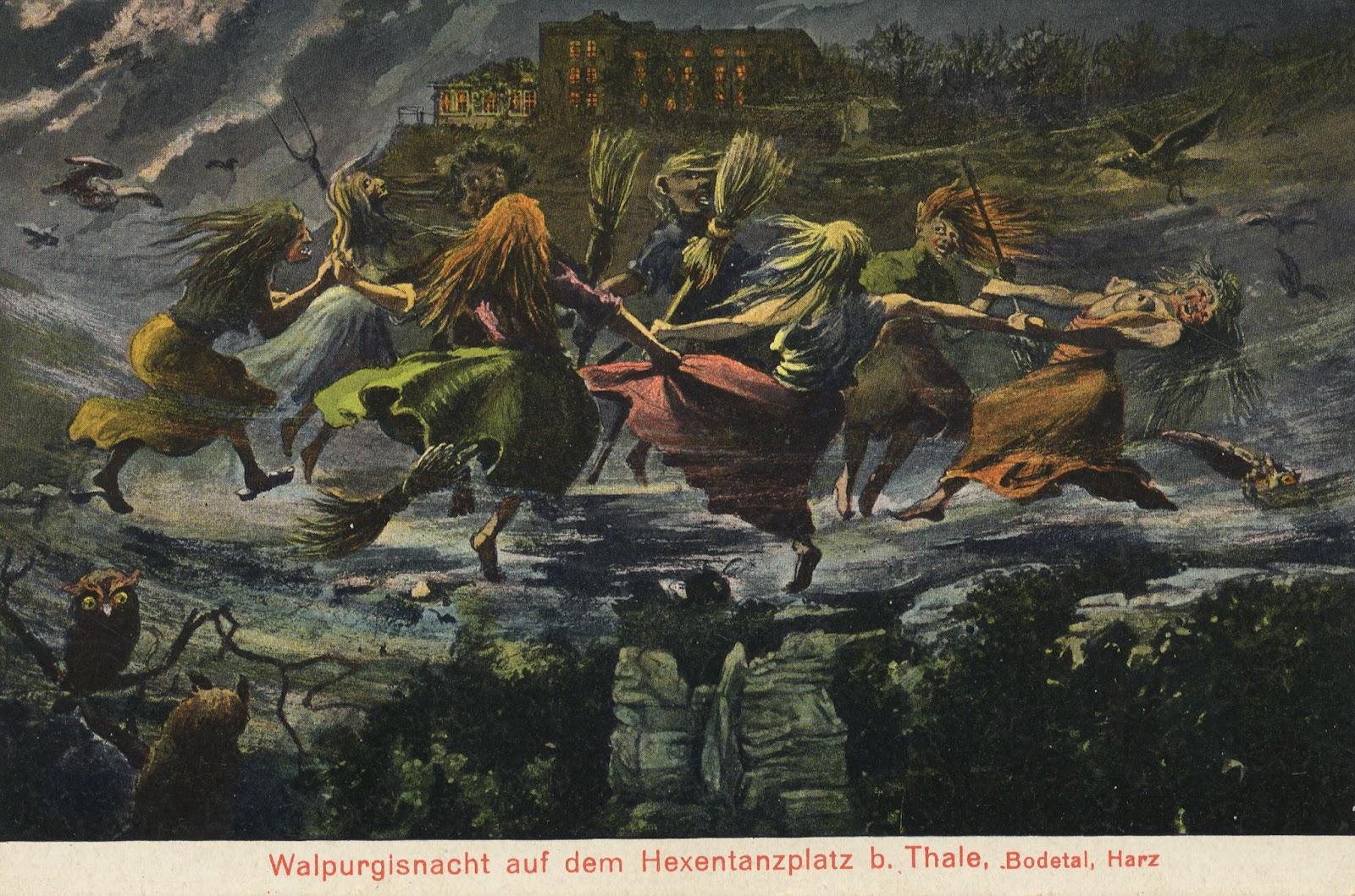 Elisandre - L'Oeuvre au Noir: C'est la nuit de Walpurgis ! Walpurgis Nacht !