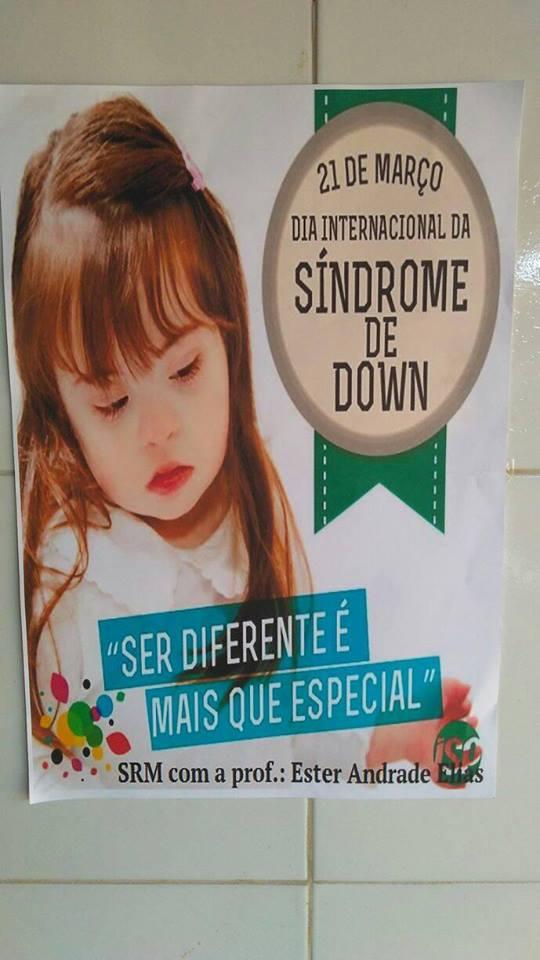 21 de Março dia Internacional da Sindrome de Down