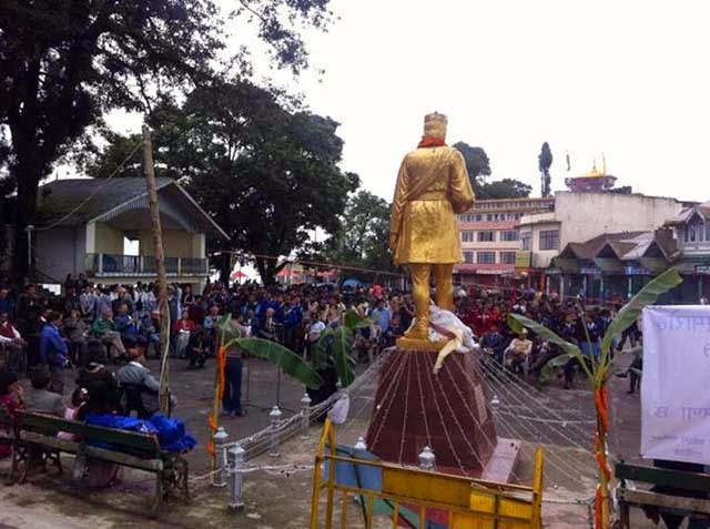 Bhanu jayanti Celebration in Darjeeling