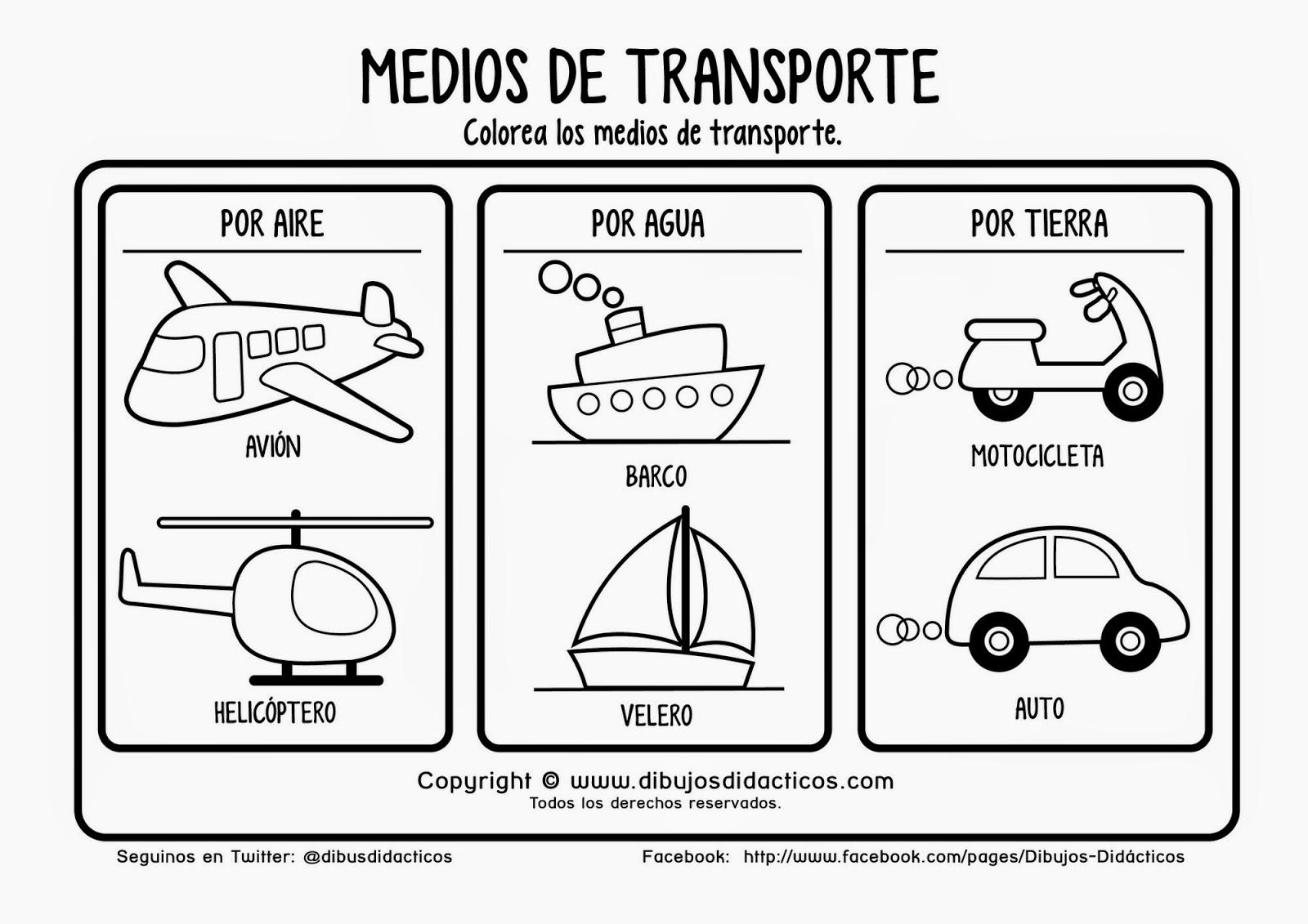 SGBlogosfera. María José Argüeso: MEDIOS DE TRANSPORTE: CONOCEMOS Y ...