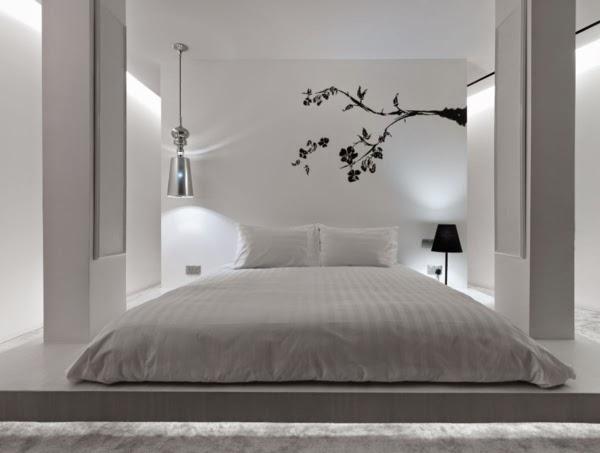 Feng Shui Bett Schlafzimmer Farben weiß ~ Schlafzimmer Deko Ideen