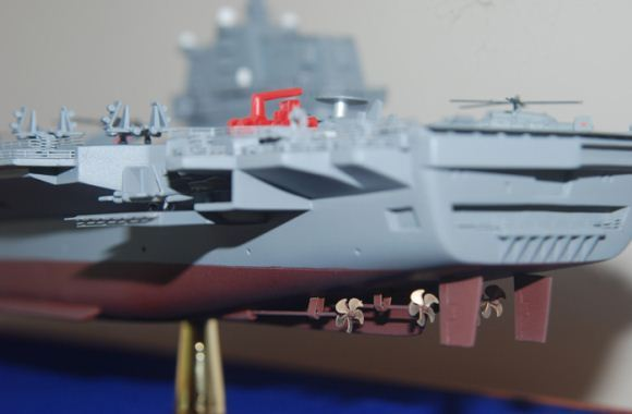 Desain kapal induk nuklir China