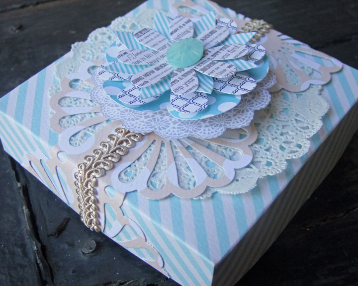 Another Scrappy Day My Creative Scrapbook Gift Box Tutorial