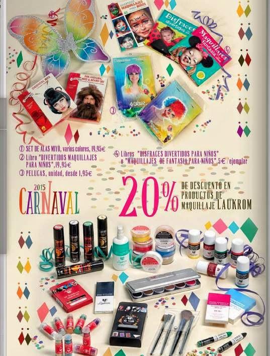 Maquillaje carnaval 2015 ECI