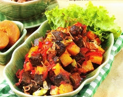 Resep Masakan Sambal Goreng Hati Kambing