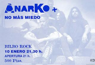 entrada de concierto de anarko