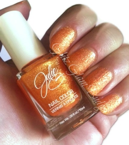 JulieG Tangerine Dream Swatches Limited Edition Frosted Gum Drops Collection