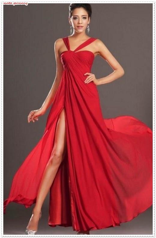 Rotes Trägerkleid