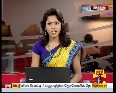 Thanthi Tv News Readers: Nithya